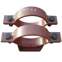 111夹式滑动支座 管道支吊架夹式滑动支座标准