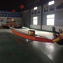 木船厂家出售广东广西木质龙舟 端午节比赛龙舟 景观装饰木船