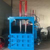 废旧电缆铝线压块机 曲阜油桶压扁机价格 立式废纸打包机厂家