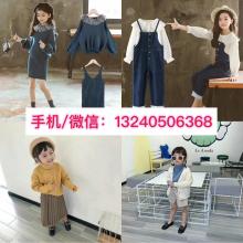 河北保定童装批发市场位置初次做童装怎么拿货好中小童韩版灯芯绒条绒假两件连衣裙批发厂家