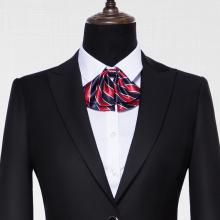 GY11926定制贵州职业装黑色仿毛面料西装领戗驳头一扣女西装