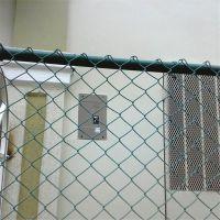 体育栏网场护 勾花护栏网 金属护栏网