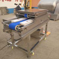 康汇机械鸭胗自动切片设备 多功能鲜肉切割机器