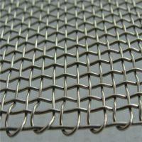 镀锌钢丝轧花网 矿筛轧花网价格 筛网孔径国标