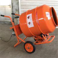 鸿睿手推搅拌机生产厂家 加厚手推搅拌机 电动混凝土拌料机