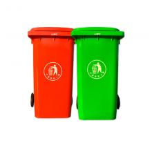 天津专业生产LH-360升掀盖塑料垃圾桶 上海分类塑料垃圾桶 石家庄干湿分类垃圾桶 义乌直销厂家