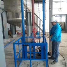 AG二八杠  固定导轨式升降机 平顶山工厂导轨式升降货梯定制 高空货梯 厂家量身定制