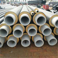 晋中 鑫龙日升 聚氨酯钢塑复合保温管 DN80/89聚氨酯热力直埋管
