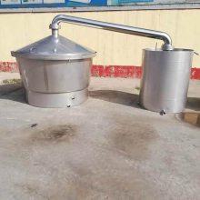 微型五粮自动酿酒设备 山东购销 家庭熟料烤酒设备 液态双层保温酿酒设备