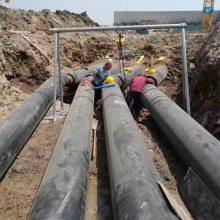 聚乙烯外壳聚氨酯管 直埋蒸汽复合保温管 聚氨酯地埋保温管