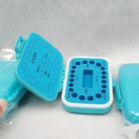 新款乳牙盒宝宝胎毛收藏塑料男女儿童齿牙屋保存礼物跨境外贸批发