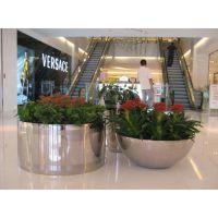 园林景观设施花盆花器 户外美陈不锈钢组合式花盆 酒店装饰花钵