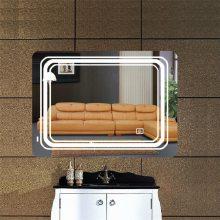 弘润HRC21 现代艺术玻璃电视背景墙智能镜