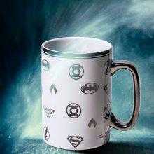 DC正义联盟电影周边镀金高直杯马克杯大容量陶瓷杯超级英雄伴手礼
