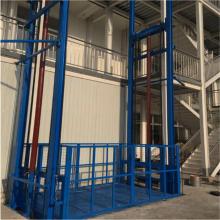 平遥导轨式升降机 工厂链条式升降平台 固定剪叉式升降货梯 非标定制济南航天