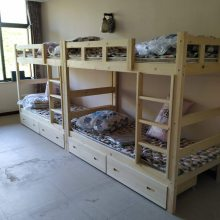 石家庄实木上下床学生公寓床生产厂家销售