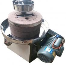 全自动石磨豆浆机康顺 小型商用石磨面粉机