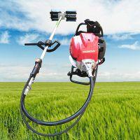 乐农牌菜地背负式除草机 多功能汽油背负式除草机