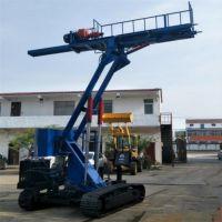 基坑支护锚杆钻机高边坡支护锚杆钻机履带锚固钻机