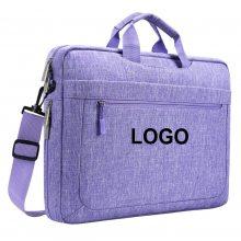 青岛箱包厂定制笔记本电脑包时尚手提包休闲情侣平板电脑包logo