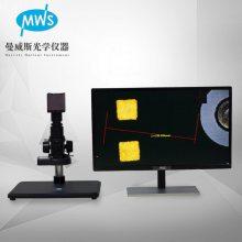 厂家直销高清测量视频显微镜 拍照放大MWS-SCL103电子显微镜