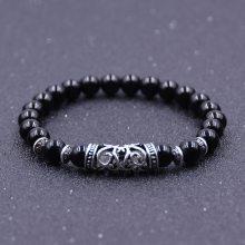 欧美外贸饰品 新款天然水晶手链 时尚百搭男女通用圆珠手链