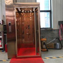 6up传奇扑克 牌家用电梯 小型电动液压升降机 室内二层三层四层五层别墅液压电梯