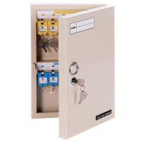 得力9321钥匙管理箱 壁挂式24位存钥匙箱 钥匙盒保管柜收纳锁匙箱