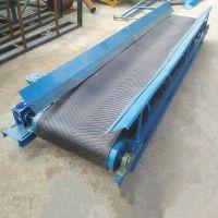 防滑式散料输送机不锈钢防腐 订做皮带输送机
