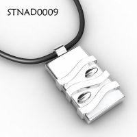 项链加工生产定制 银饰品925纯银钨吊坠 纯银项链首饰加工厂