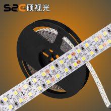 3528双排软灯条 240灯 DC24V 低压灯带 正白高亮 批量现货批发