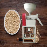 亚博国际真实吗机械 谷子碾米机 黄豆高粱脱皮碾米机 谷物去皮碾米机 立式碾米机价格