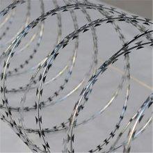 边境刺丝滚笼 铁路围墙刺丝滚笼 铁路围墙刺丝滚笼支架