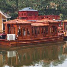 画舫船/餐饮观光船/水上餐厅/玻璃钢画舫船/电动游船 服务类船
