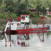 山东省烟台市10寸铰刀式挖泥船直销 河道铰刀式挖泥船质量