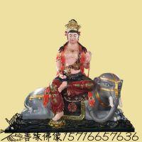 彩绘大智文殊师利菩萨 寺庙亚博里面的AG真人订购电话 释伽牟尼佛右胁侍是谁 大型玻璃钢神像