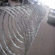 BTO-22型厂家生产销售刀片刺绳 监狱安全网刺绳 防盗刺绳 刀片刺网 欣展丝网