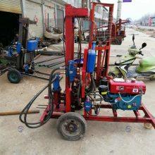 久鉆百米三相電液壓水井鉆機_噪音小水井鉆機報價
