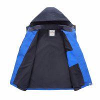 曲靖冬季男女款加厚摇粒绒三合一两件套户外防风冲锋衣特卖批发