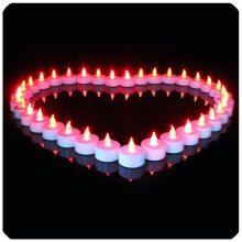 厂家直销LED仿真蜡烛 晚会婚礼装饰无烟蜡烛灯 电子茶蜡