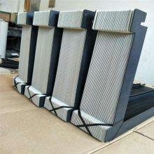厂家定制一字型防护风琴防护罩耐高温保护套