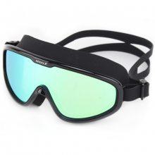 厂家直销鲸鱼一体泳镜大框硅胶防水防雾电镀游泳眼镜成人专业装备