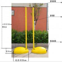 邯郸供应羽毛球网架带轮网架 标准移动式羽毛球网柱 比赛排球柱网架批发
