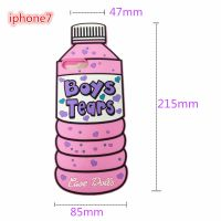爆款卡通型酒瓶iphone7硅胶保护套苹果iphone6/5S手机壳生产厂家