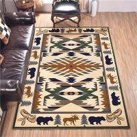 平舆县机织块毯定制中东块毯配套家具厂酒店地毯沙特酒店地毯
