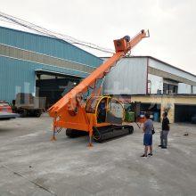 小型建筑地基打桩机 履带式螺旋打桩机 长螺旋打桩机生产厂家