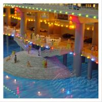 全景沙盘模型制作定制古建筑模型沙盘真水动态场景模型制作厂家