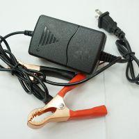 AC转DC夹子充电器 黑色充电器 电动车充电器 手机配件厂家批发