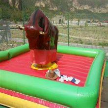 廣場公園游樂場瘋狂翻轉斗牛機兒童玩具成人仿真機械騎牛機