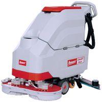 手推式双刷洗地机厂家直销,贝纳特工厂用自驱行走全自动洗地机C660BT